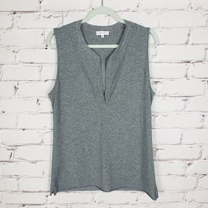 Community Heather Gray Tank Top